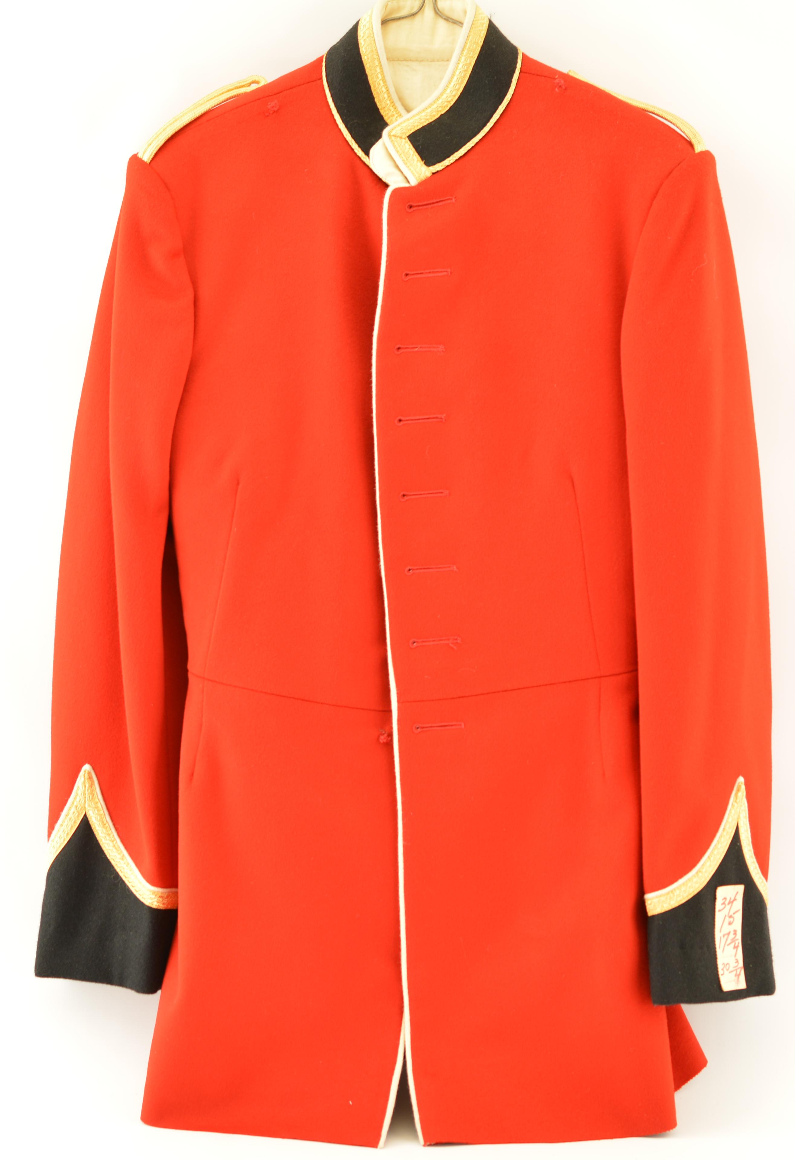 Royal Military College Saint Jean Cadet S Full Dress Uniform