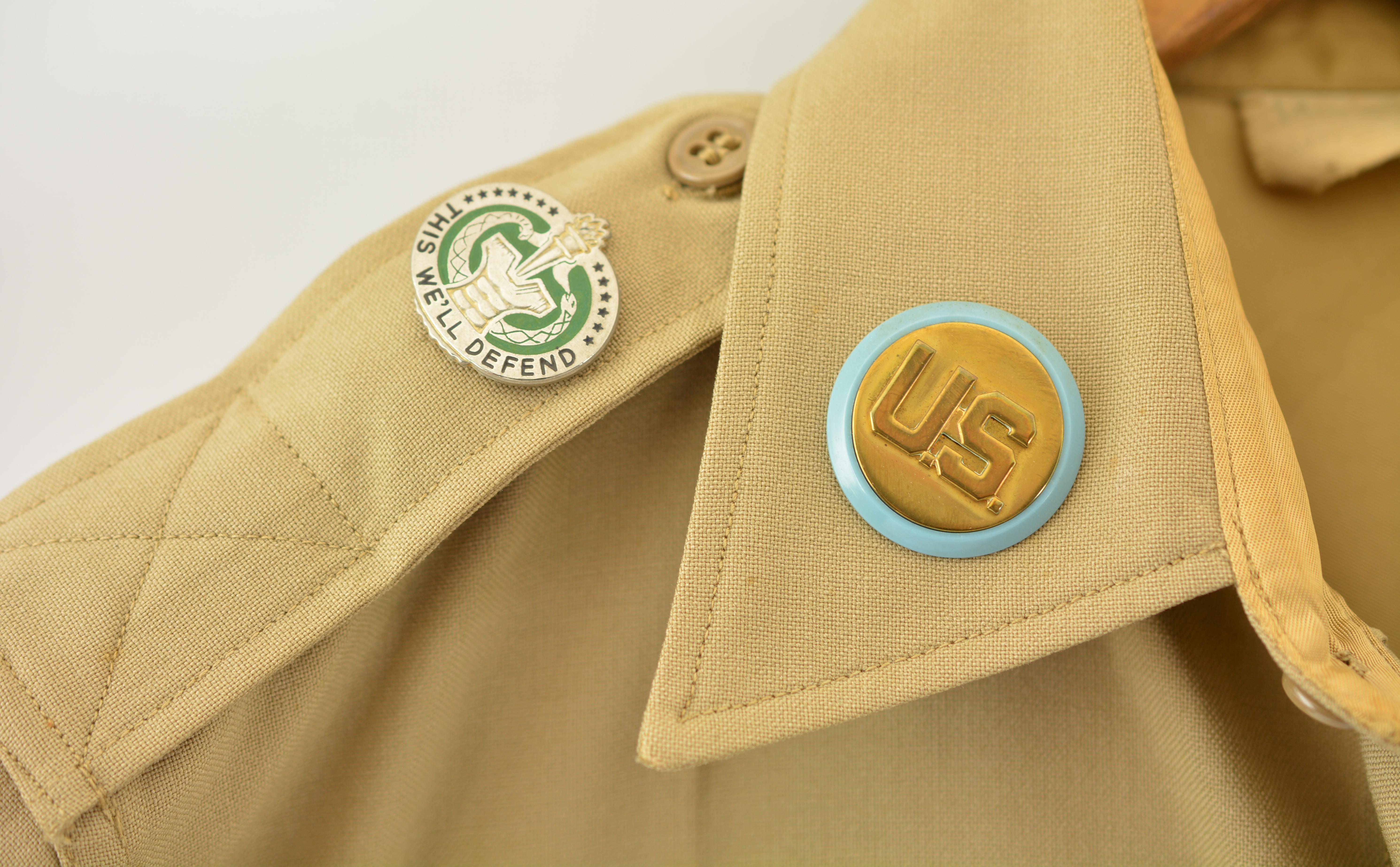 Vietnam Era U S  Army Uniform Shirt