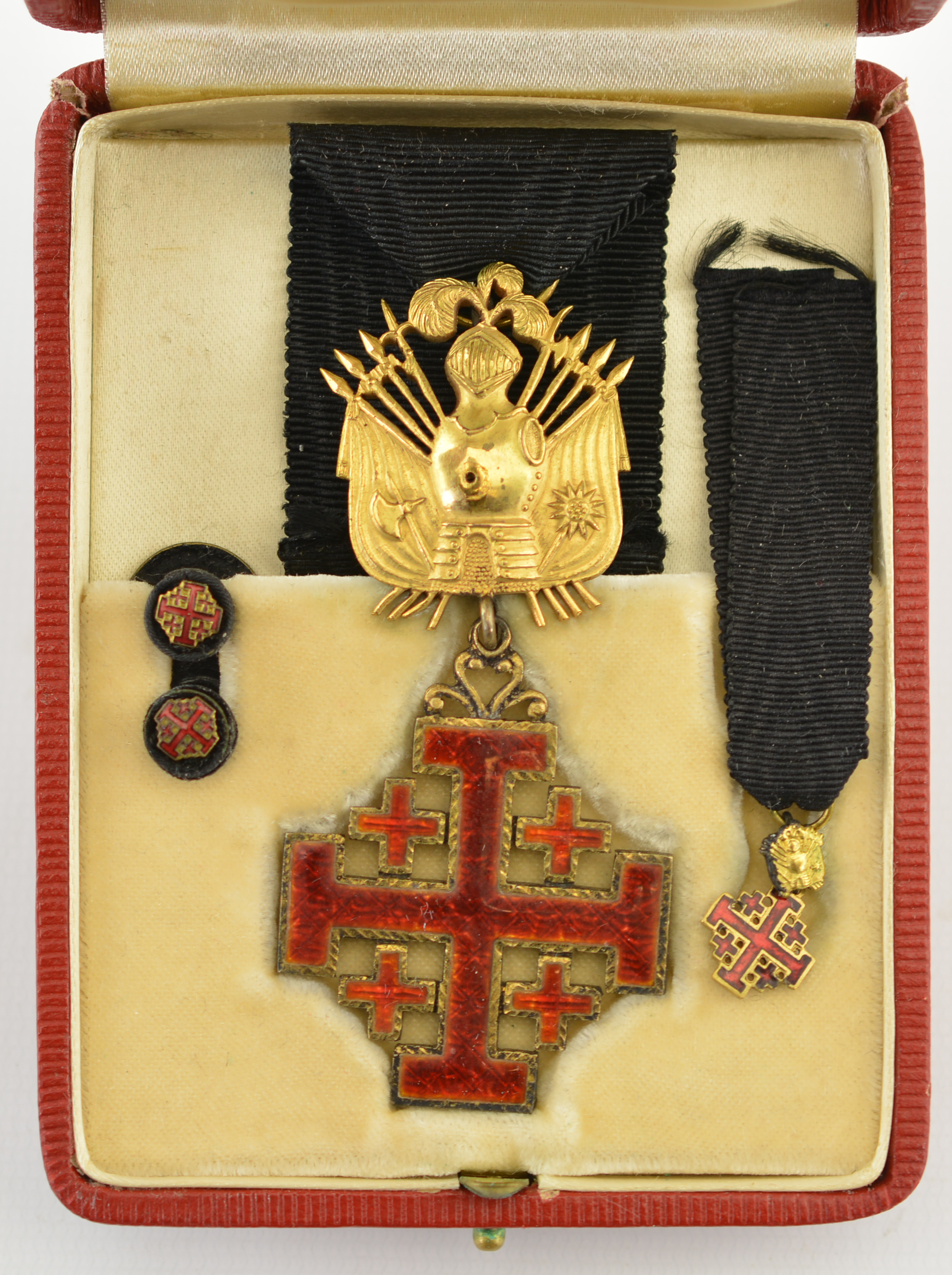 order medal decoration ... rank decoration is nearly identical but is now a neck order). This is a very nice piece of Vatican/Catholic regalia and is in fine condition overall.