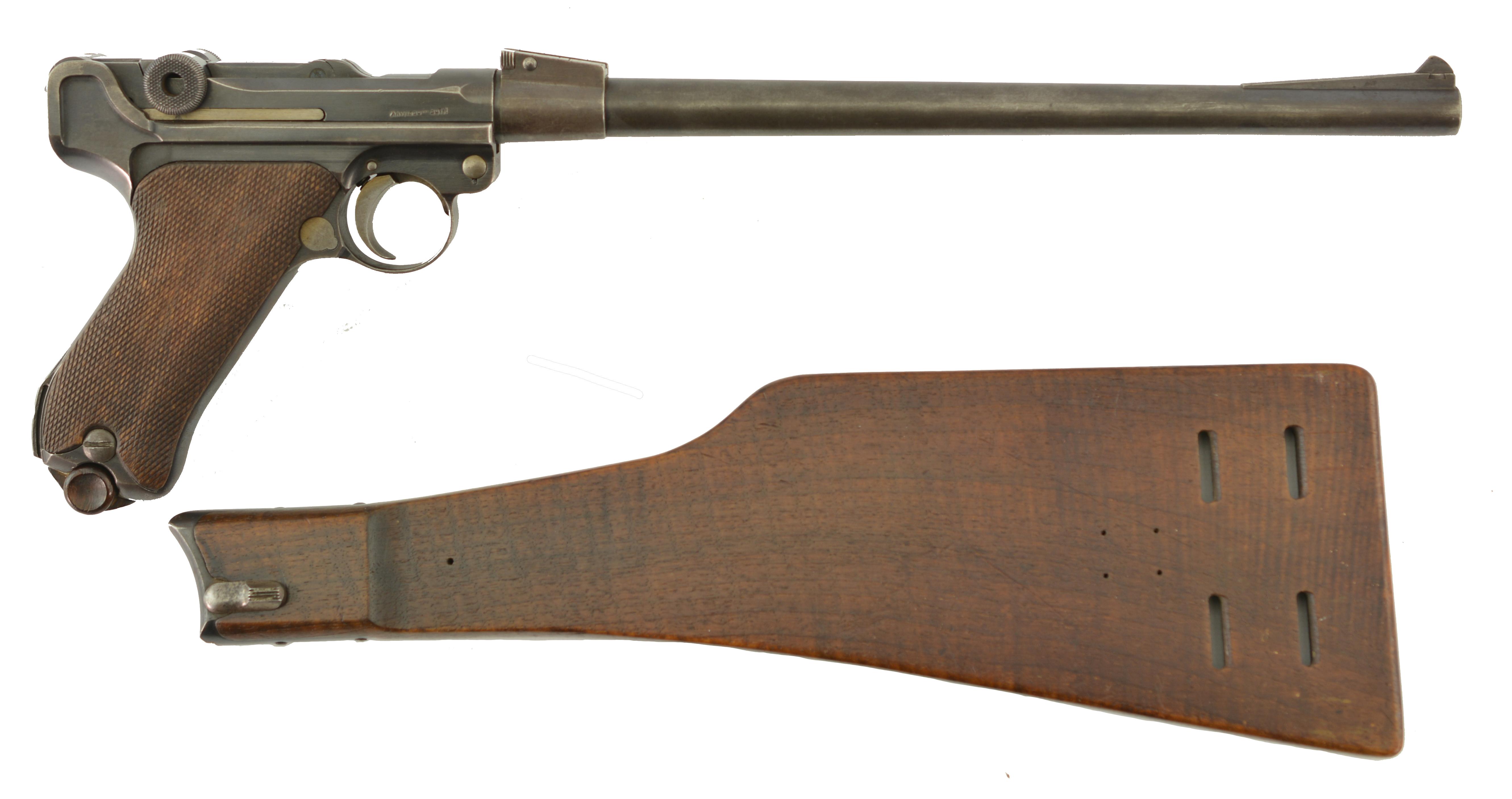DWM Luger Pistol Carbine Model 1920 Scarce Parts Gun