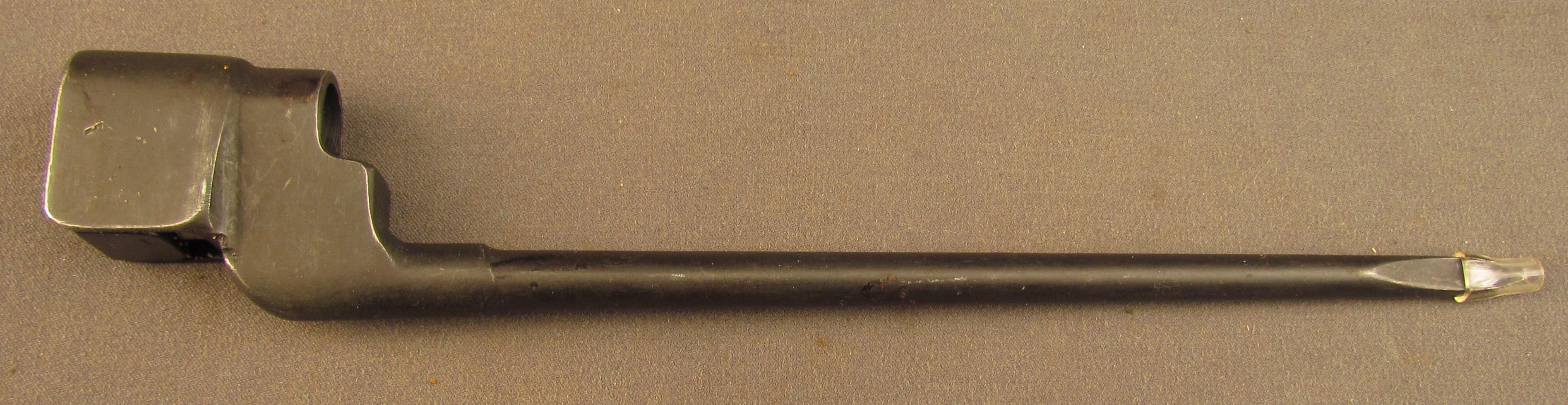 Enfield No 4 MK II Spike Bayonet and Scabbard .303 British Rifle
