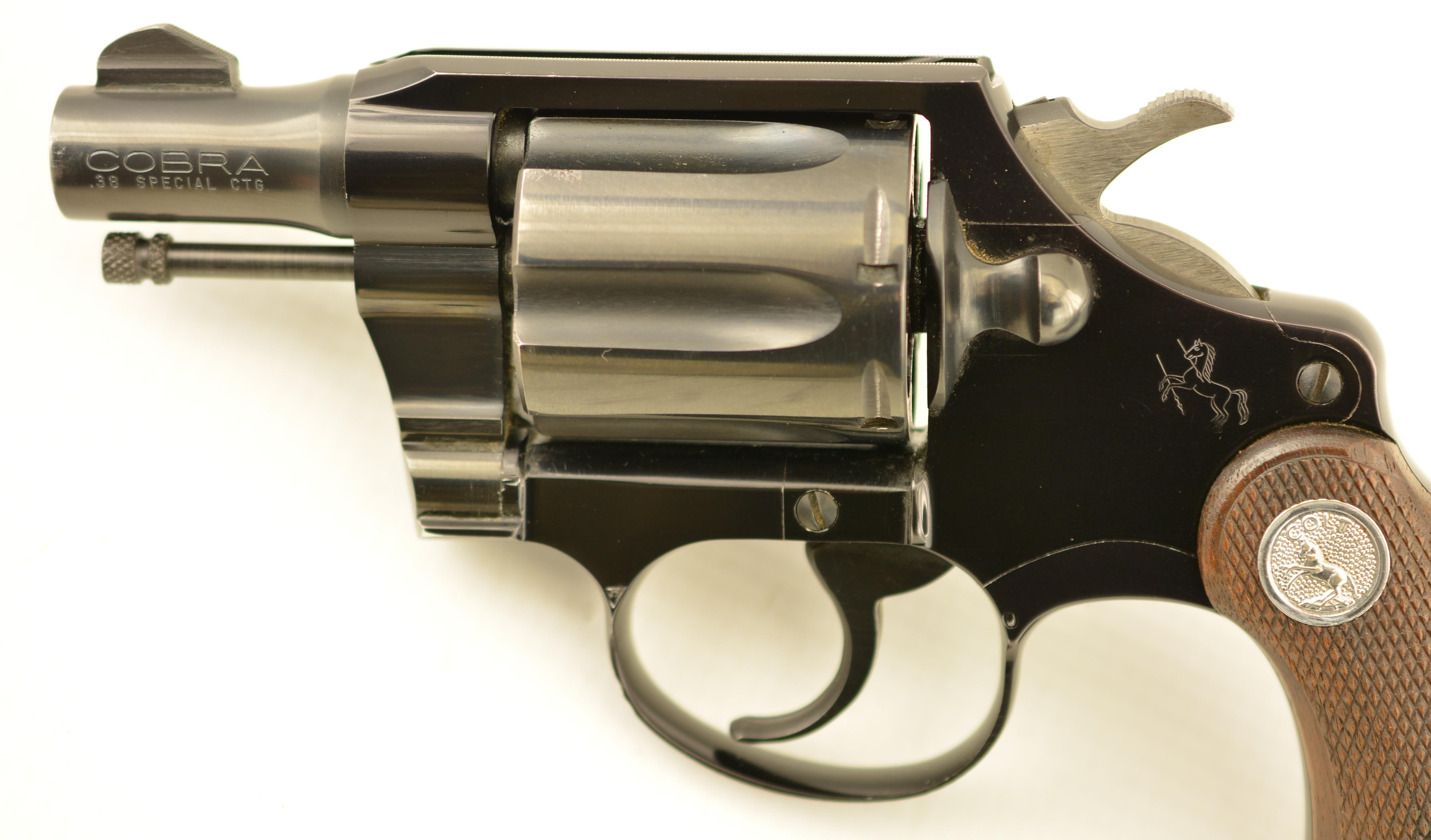 Colt Cobra Revolver 38 Special 1960 1st Issue