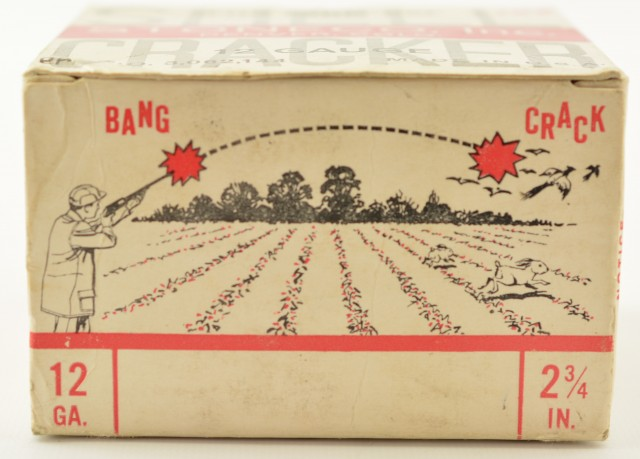 Empty Box of Shell Crackers for Farm Use
