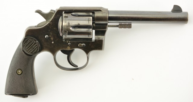 Colt New Service .455 Revolver Converted to .45 Colt (British Proofed)