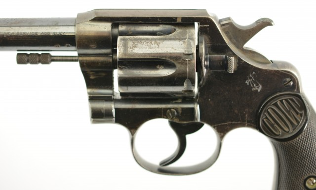 Colt New Service .455 Revolver (British Proofed)