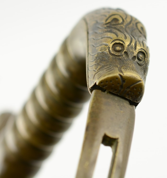 British Pioneer Sword with Lion Head Hilt (ca. 1830)
