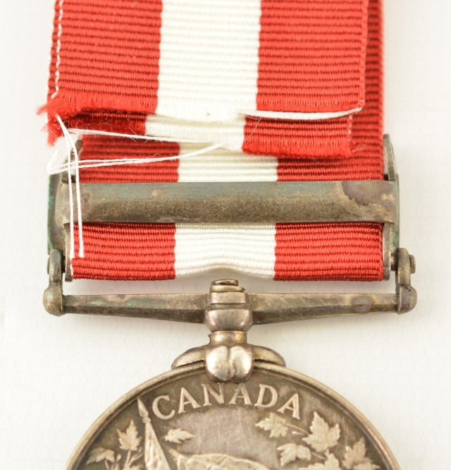 Named Canadian Fenian Raid Medal 1866