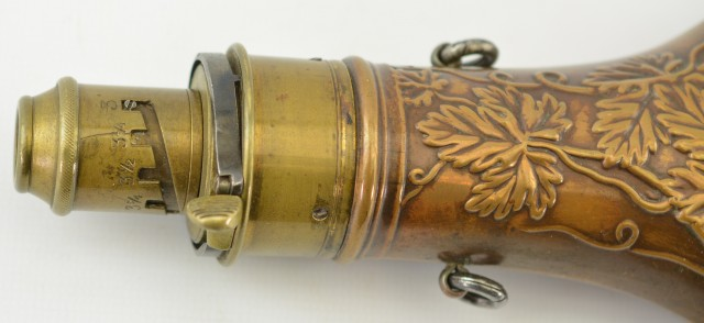 Antique Dead Game error Flask #630 in Riling