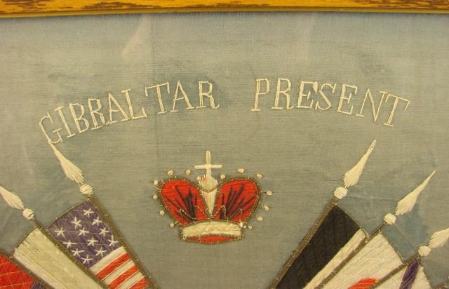 WWI Patriotic Banner & Photo