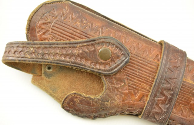 Brown Leather Holster for 4.5