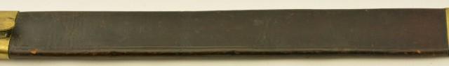 Saxon Model 1845 Fusilier's Sword
