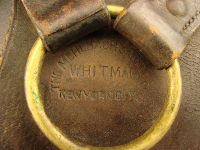 Pair of safes for Whitman pattern saddle