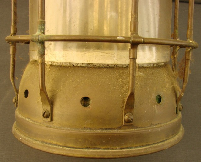 Pair of Ship's Copper Lamps