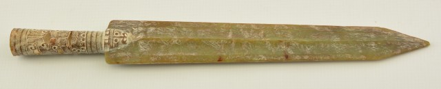 Rare Ancient Chinese Jade Spear Point