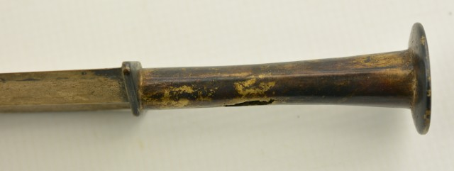 Chinese Short Sword, Gilded  Blade 400-300 BC