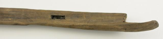 Rare Antique Chinese Crossbow Tiller & Lock 300-100 BC
