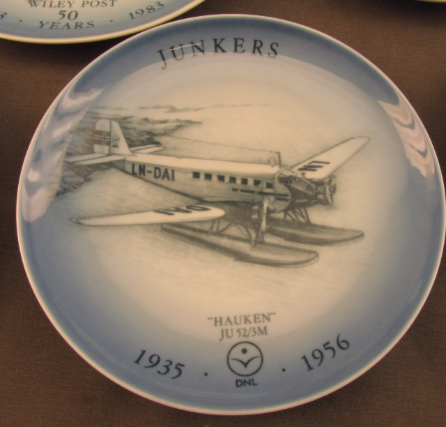 Collection of 17 Danish Aviation Plates