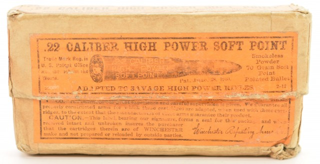 Winchester .22 High Power Box 20 Rounds