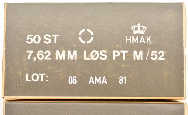Danish .30-06 Blank Ammo