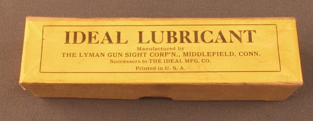 Ideal Lubricant Empty Box