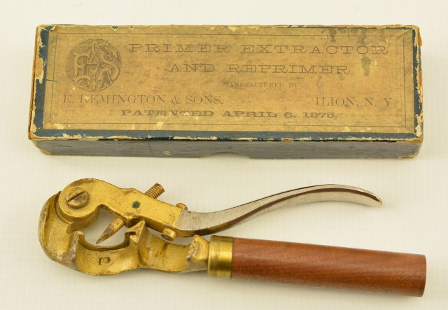 E. Remington and Sons Shotgun Primer Extractor w/Original Box