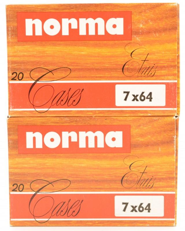 Norma 7x64mm Unprimed Cases