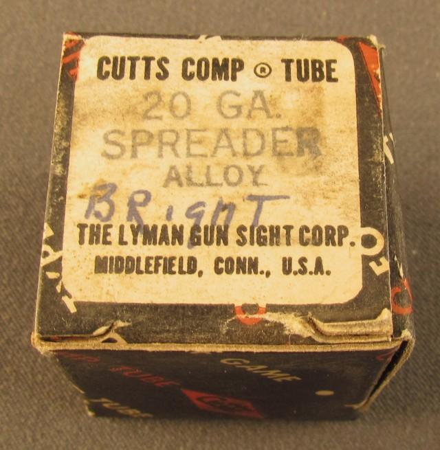Lyman 20 GA Cutts Spreader Tube