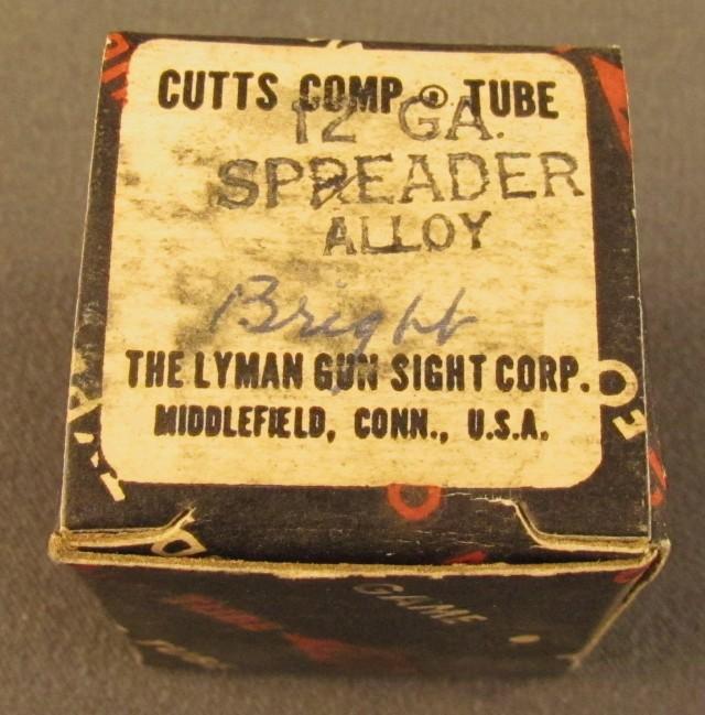 Lyman 12 GA Cutts Spreader Tube