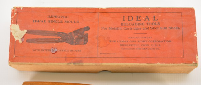 Ideal Improved Bullet Mold in Box