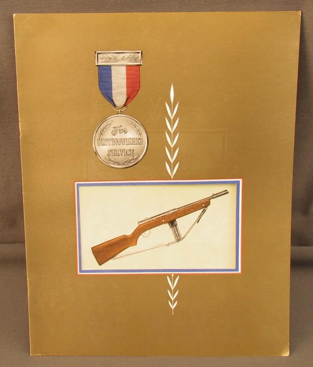 H&R Reising Submachine Gun Sales Booklet