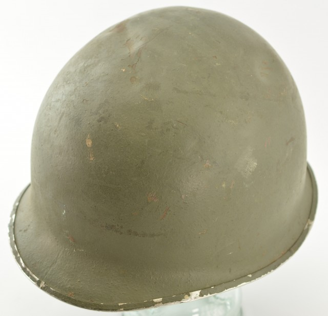 US Army World War II Fixed Bale M1 Helmet