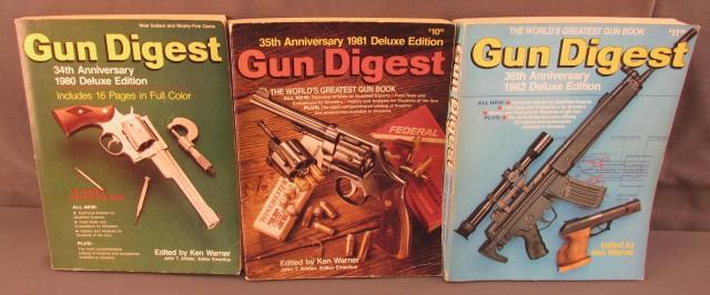 The Gun Digest 1980, 81 +82 Editions