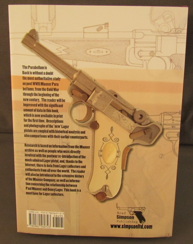 Parabellum is Back Luger Book
