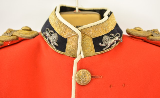 British Army Officer's Full Dress Tunic