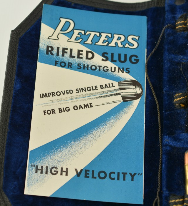 Peters DuPont Salesman's Sample Shotshell / Cartridge Display
