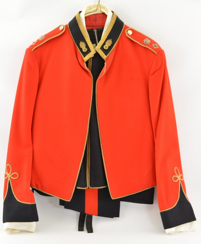 British Royal Fusiliers Officer S Mess Uniform