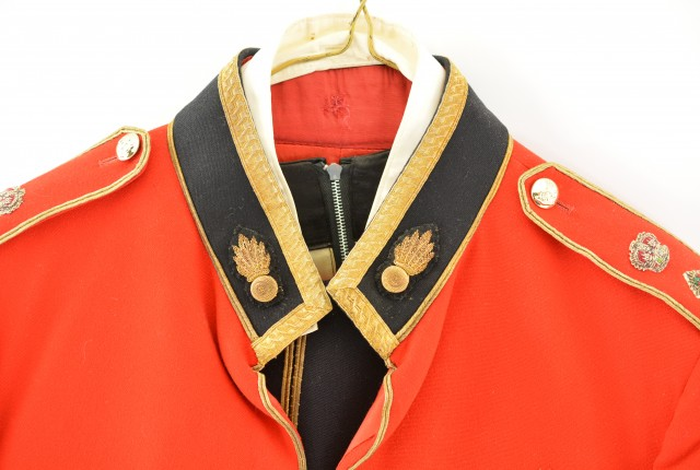 British Royal Fusiliers Officer's Mess Uniform