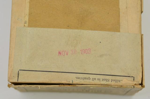 Rare Empty Kirkwood Bros Shotshell Box