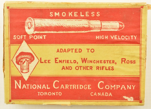 National Cartridge Company .303 Hunting Condemned Ammo