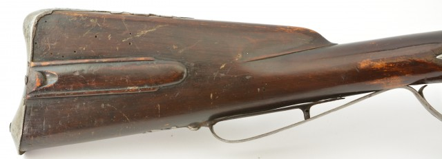 Flintlock European Sporting Rifle Reconverted