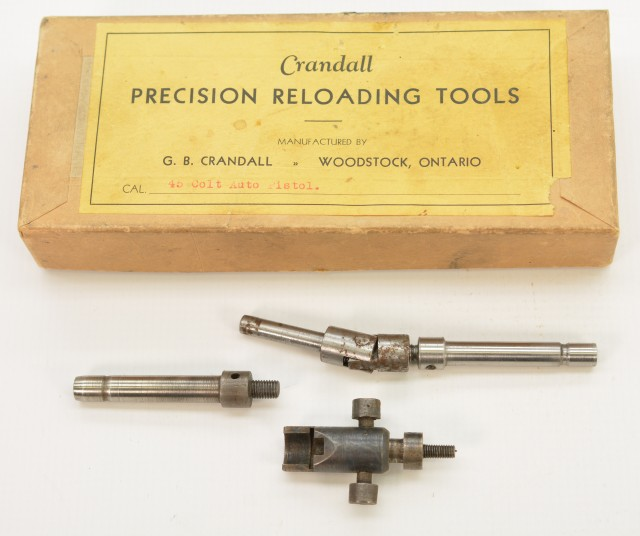 G.B. Crandall Precision Reloading Tools in Box