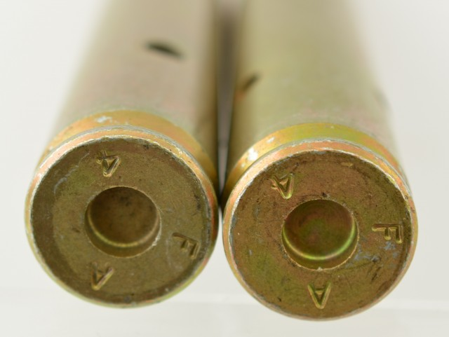 Pair of .50 BMG  Dummy Rounds