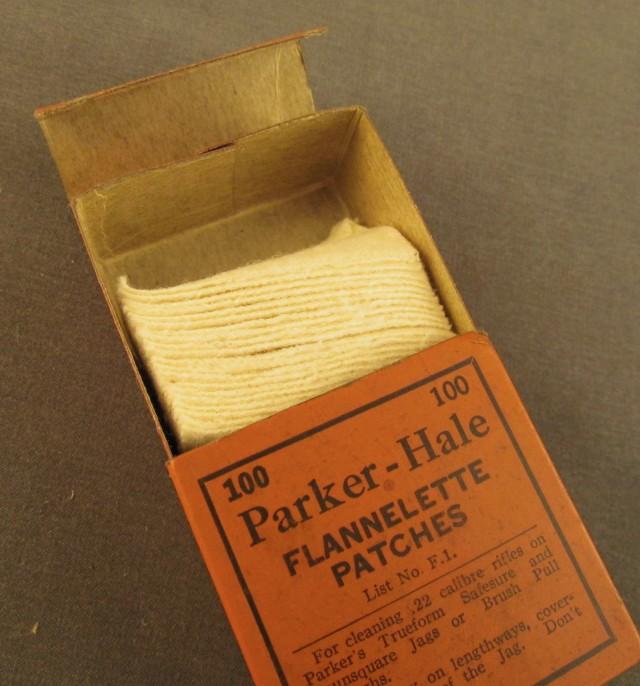 Parker -Hale Glannelette Patches