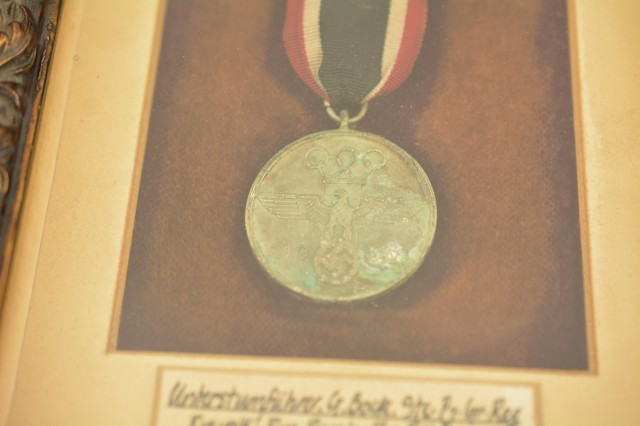WW2 German Olympic Decoration in Frame