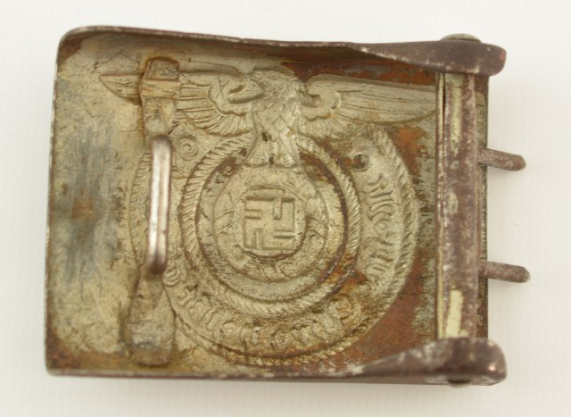 World War 2 German SS Belt Buckle Enlisted Man's