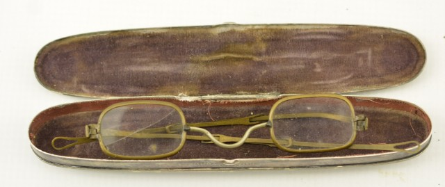 Cased Pair of 19th Century Spectacles
