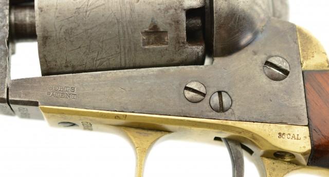 Colt Model 1851 Navy Revolver built in 1866