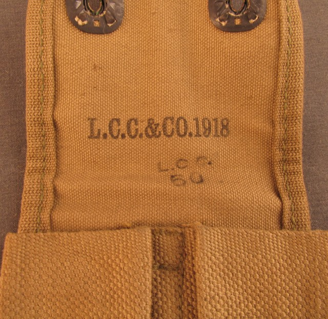 US WW1 LCC & Co Mag Pouch