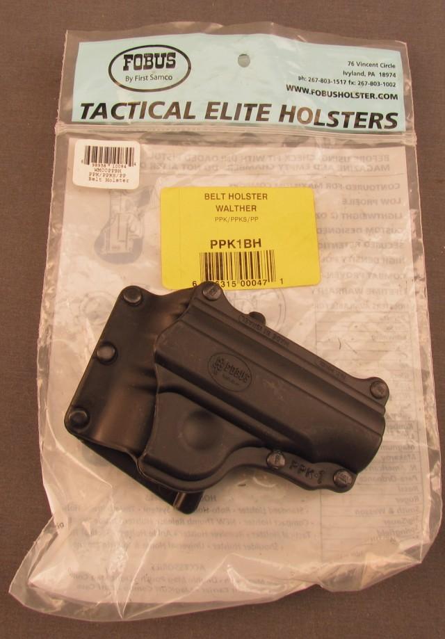 Fobus Tactical Elite PPK/PPKS Holster