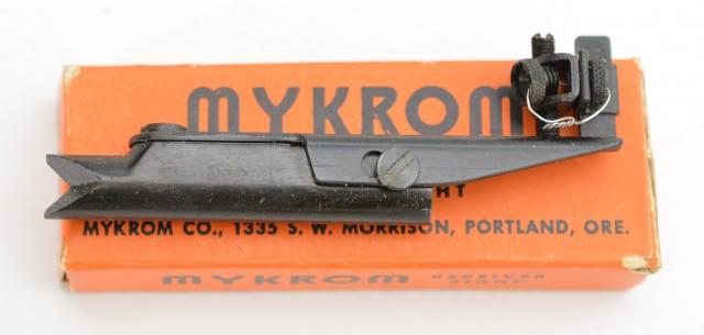 Mykrom Type 1 Scope Mount + Peep Sight